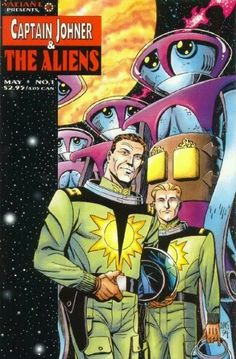 Captain Johner and the Aliens #1 of 2. Valiant Comics reprint from Magnus, Robot Fighter back-up stories. New cover by Paul (X-Men, Leave it to Chance) Smith.