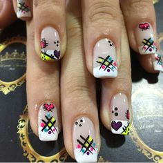 . Love Nails, Pretty Nails, My Nails, Hair And Nails, New Nail Art, Cute Nail Art, Shellac Nails, Manicure And Pedicure, Cruise Nails