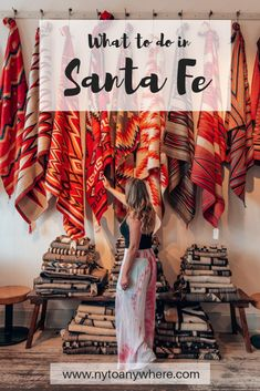 The perfect 5 day Santa Fe itinerary. Santa Fe is a mecca for Native arts and culture. Discover it's history and charm in 5 days. Sante Fe New Mexico, Ten Thousand Waves, Travel Usa, Travel Tips, Alaska Travel, Alaska Cruise, Train Travel, Canada Travel, Budget Travel