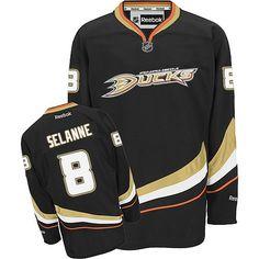4841133a Teemu Selanne-Buy 100% official Reebok Teemu Selanne Men's Authentic Black Jersey  NHL Anaheim