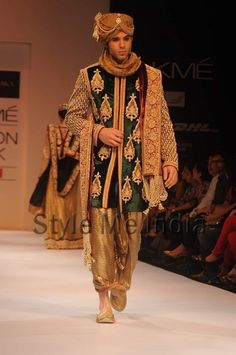 Shyamal and Bhumika at Lakme Fashion Week Winter Festive 2012