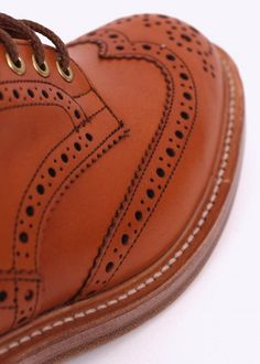Trickers by Triads Derby Brogues - Acorn Antique Derby, Brogues, Acorn, Hermes, Antiques, Fit, Bags, Fashion, Antiquities