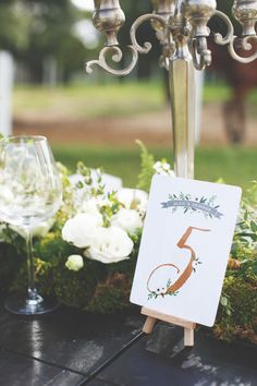 Table numbers. One Shoot, Two Looks: Wilderness and Countryside Charm Inspiration