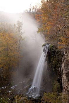 Falling Spring Falls. Douthat State Park. Bath County VA.