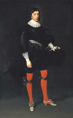 Daniel Mytens the Elder, 'Portrait of James Hamilton, Earl of Arran, Later 3rd Marquis and 1st Duke of Hamilton, Aged 17' 1623