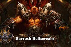 World Of Warcraft, Garrosh Hellscream, Hearthstone: Heroes Of World Of Warcraft Gold, Heroes Of The Storm, Warcraft Characters, Fantasy Characters, Twilight Princess, Fantasy Kunst, Fantasy Art, Hearthstone Wallpaper, Digital Art Illustration
