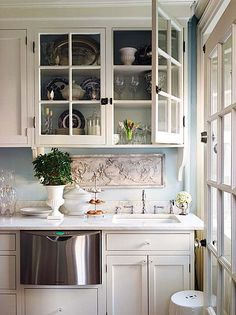 tiny and pretty kitchen