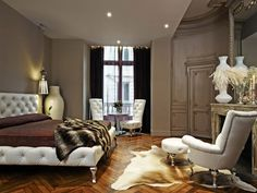 Those chairs and those silver legs!Hotel Interior Design | Home Interior and Exterior Design