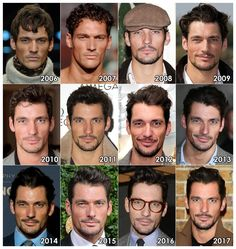 "theonewiththevows: ""The Evolution of: David Gandy "" Like the best wine"