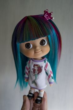 Mui-chan doll wig by macedonia dolls