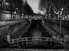 LEcluse du canal Saint Martin #photos #paris