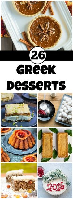 The Sweetness of Greece in 26 Classic Desserts