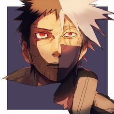Naruto: Obito and Kakashi