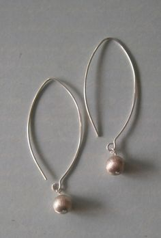 Sterling Silver Ball Earrings    made in NZ by savannah rose jewellery $28