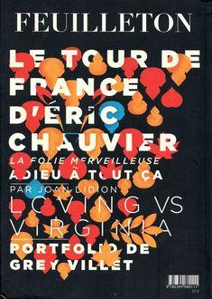 Mike Lemanski: Feuilleton magazine cover