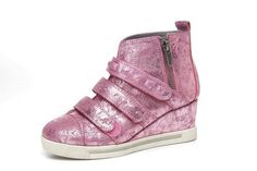 high heel sneaker  These are kids but I would love a pair of them!!