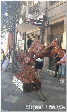 Estátua Viva - Puerta del Sol - Madrid - Espanha - Junho 2014