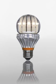 A lightbulb with a lifetime warranty... how awesome is that?!