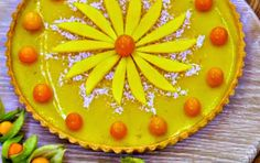 How To Do Stuff: Recipe: Tropical Manchester Tart British Bake Off Recipes, Great British Bake Off, Delicious Desserts, Yummy Food, Healthy Food, Manchester Tart, Slow Cooker Chocolate Cake, Fabulous Foods, Different Recipes