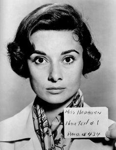 Audry Hepburn-- before she was AUDRY HEPBURN