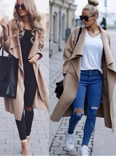 Buy Hot Sale Trench Fashion Winter Woolen Bodycon Women's Coat Women's Clothing under US$ 55.99 only in SimpleDress.
