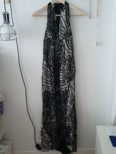 H Halter Maxi Dress  Size XS $10