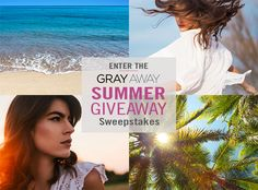 I just entered the Gray Away Summer Giveaway Sweepstakes! When you enter, it increases my chances of winning. If you share, it increases YOUR chances. #GrayAwaySummerGiveaway