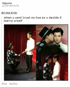 MAYBE HE LEFT SUHO FOR HIMSELF
