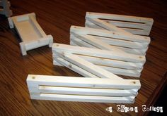 DIY wood toy fence.....exactly what I hade in mind to make