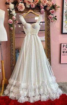 Dream Wedding Dresses, Boho Wedding Dress, Bridal Dresses, Wedding Gowns, Girls Dresses, Flower Girl Dresses, Prom Dresses, Formal Dresses, Civil Wedding