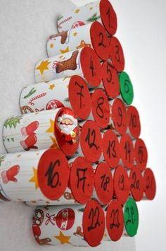 adventi naptár / advent calendar Christmas Themes, Christmas Crafts, Christmas Decorations, Holiday Decor, Christmas Wrapping, Xmas, Diy And Crafts, Crafts For Kids, Diy Y Manualidades