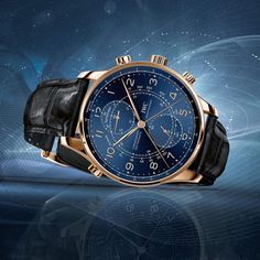 TimeZone : Industry News » N E W M o d e l - IWC Portugieser Chronograph Split Seconds Milano Boutique L.E.