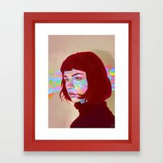 Colorful Mind Framed Art Print