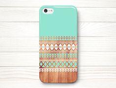 iPhone 5 Case, iPhone 5 Cases, iPhone 5 Wrap Around Case - Aztec  Wood - 197