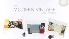 Discover Your Palette with the new Modern Vintage Collection by Carnegie. Repin this video for a chance to win a Maxwell Street Bag!