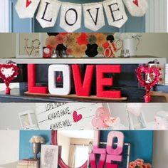 12 fantastic Valentine's Day mantels.