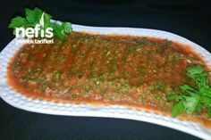 Great Flavor in the Full Consistence of Hot Sauce in Kebab Houses - Delicious Meets Healthy: Quick and Healthy Wholesome Recipes Kebab Recipes, Sauce Recipes, New Recipes, Cooking Recipes, Turkish Salad, No Gluten Diet, Salad Bar, Turkish Recipes, Kebabs