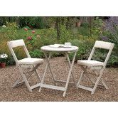 Found it at Wayfair.co.uk - Raffles 2 Seater Bistro Set with Cushions