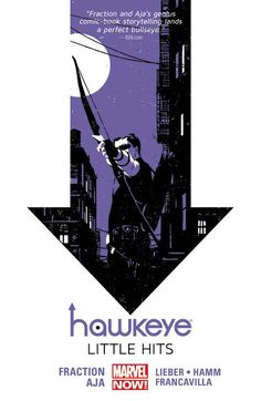 Hawkeye vol. 2: Little Hits by Matt Fraction, art by David Aja, Francesco Francavilla, Steve Lieber, and Jesse Hamm