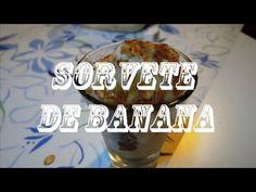 Sorvete de Banana c/ canela - YouTube