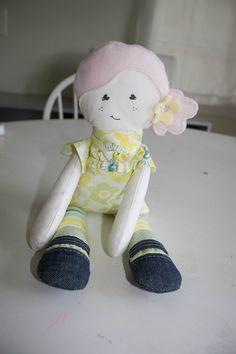 Miss M's doll  - free pattern