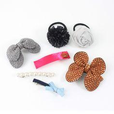 Women Girls  Hair Accessories  Pin Clip Band Handmade Made in korea  24 #Handmade