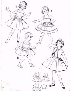 1670 best laste mood images clothing patterns childrens sewing Victorian Pinafore Dresses vintage 1950 s sewing pattern rare child s dress capped sleeve bolero 7 8 year