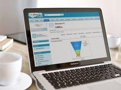 Screenshot of Salesforce on a mac