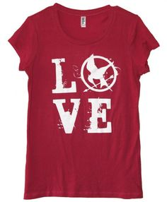 May the odds be ever in your favor! Might have to buy this to wear to school on 3/23/12...