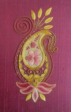 Hippos Fabric - Sashiko: Shippo-Tsunagi - Seven Treasures by bonnie_phantasm - Hippos Fabric with Spoonflower - Printed on Basic Cotton Ultra Fabric by the Yard - Embroidery Design Guide Silk Ribbon Embroidery, Crewel Embroidery, Floral Embroidery, Cross Stitch Embroidery, Embroidery Patterns, Machine Embroidery, Embroidered Silk, Indian Embroidery, Cross Stitches