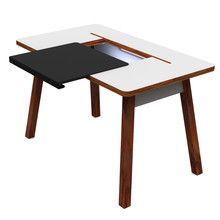 Schon Schreibtisch | Bluelounge Traditional Table With A Modern Twist |  Breite/Tiefe/Höhe: