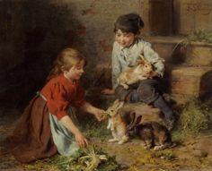 Feeding The Rabbits 4