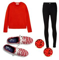 """Untitled #122"" by denisprodea-dp ❤ liked on Polyvore featuring Keds, MICHAEL Michael Kors and AG Adriano Goldschmied"
