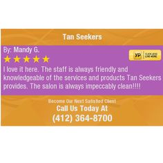 I love it here. The staff is always friendly and knowledgeable of the services and...